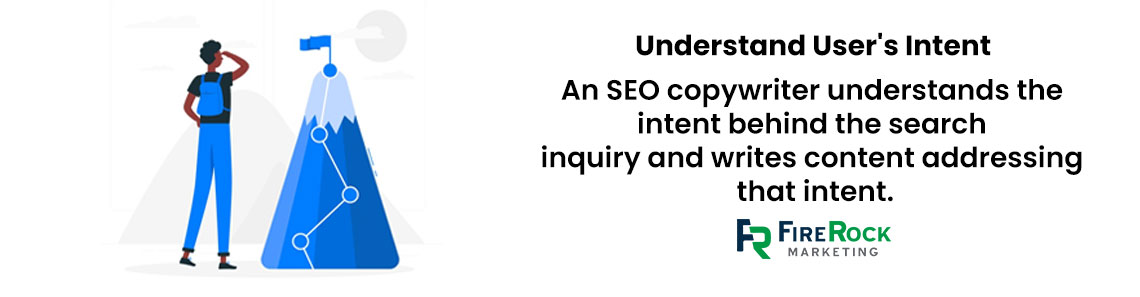 Understand user's intent for roofing SEO copywriting